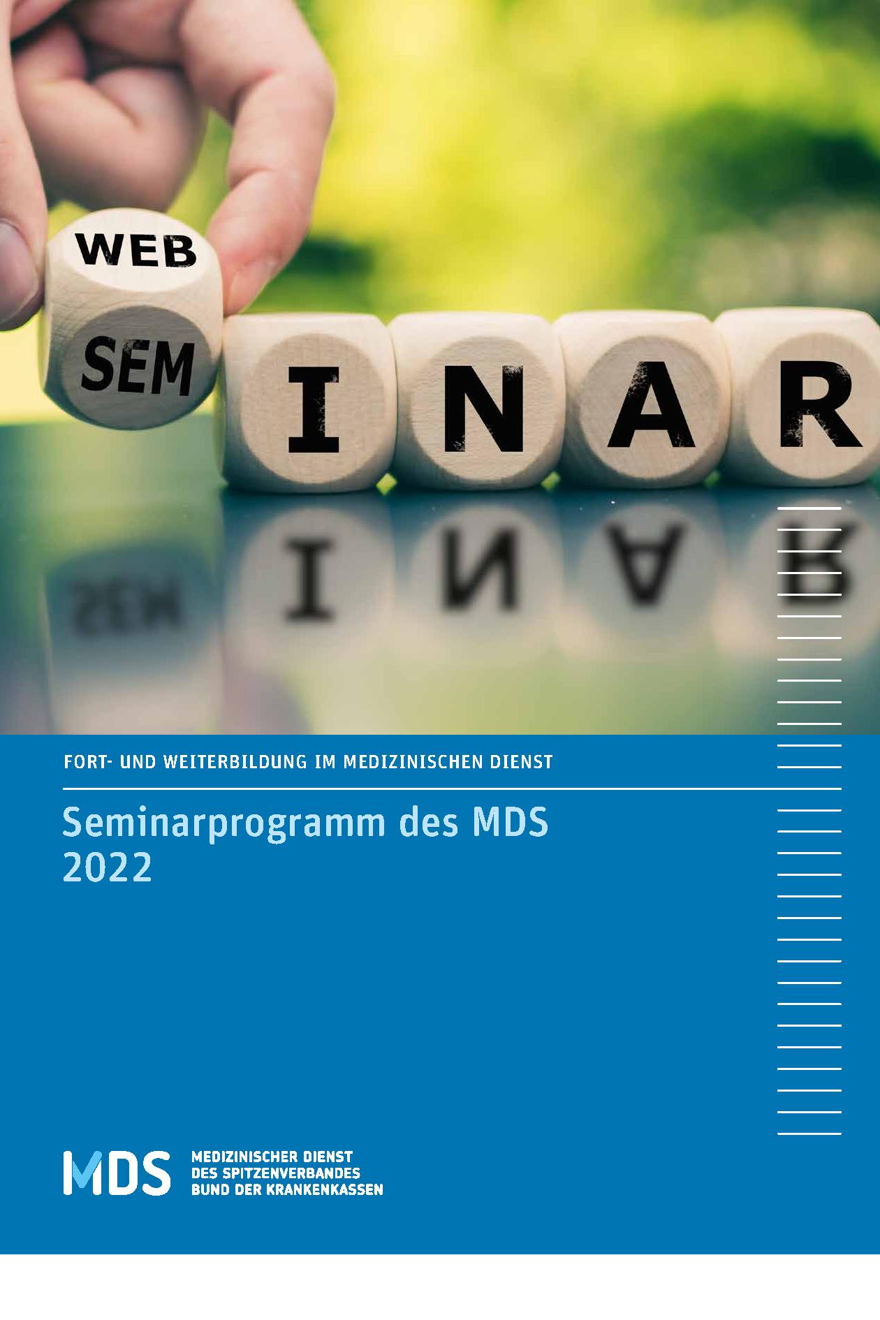 Fortbildungsbroschüre 2022
